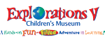 Explorations V Children's Museum Logo