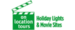 Holiday Lights & Movie Sites Logo