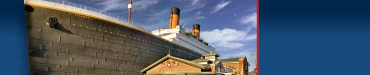 Titanic Museum Vacation Package from Willow Brook Lodge