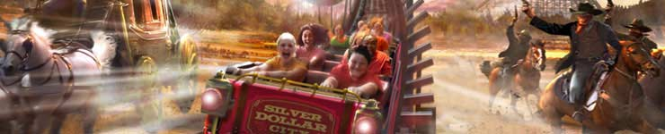Silver Dollar City Branson Vacation Package from Cascades Inn