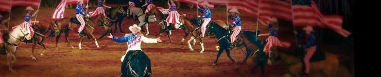 Dixie Stampede Vacation Package from Cascades Inn