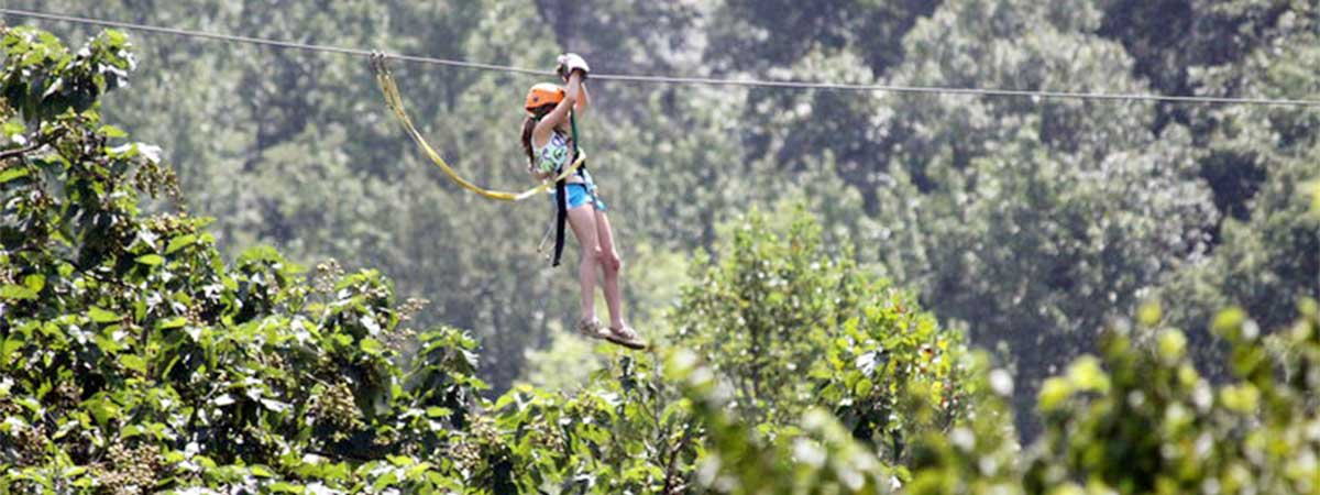 Adventure America Zipline Canopy Tours in Hartford, Tennessee