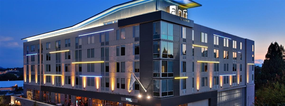 Aloft Asheville Downtown in Asheville, North Carolina