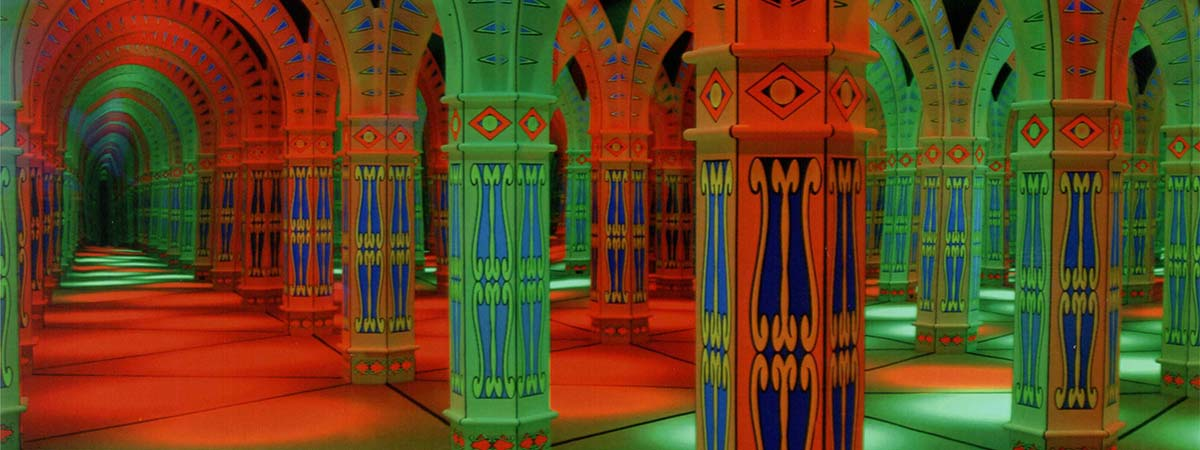 Amazing Mirror Maze in Gatlinburg, Tennessee