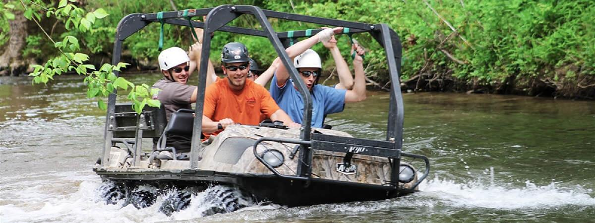 Bear Crawler ATV Adventure in Sevierville, Tennessee