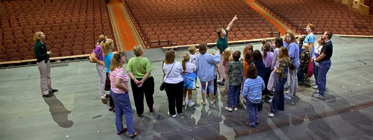 Behind the Scenes Tour at Sight & Sound Theatre