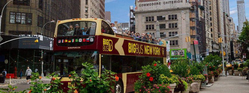 Big Bus New York Sightseeing Tours