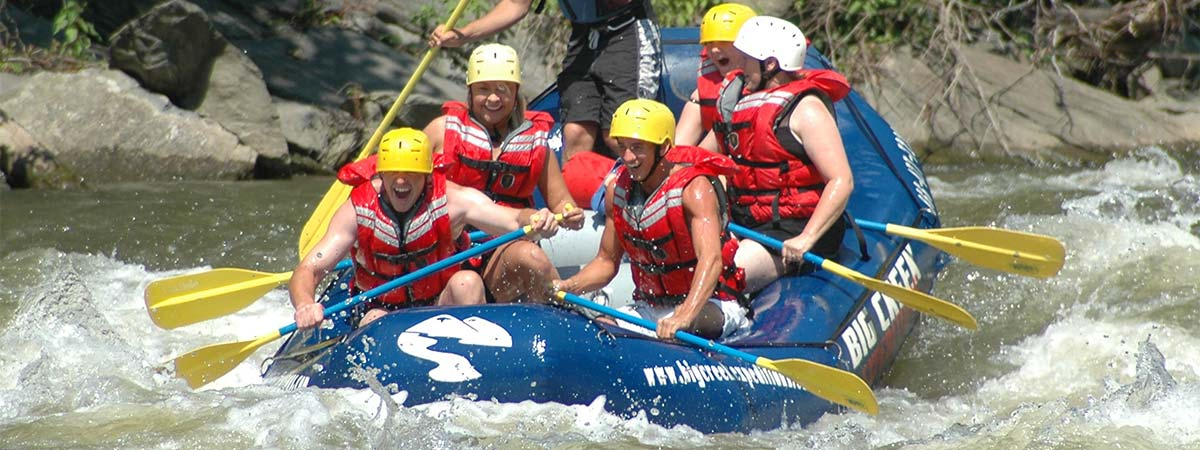 Rafting with Big Creek  Expeditions in Hartford, Tennessee
