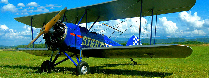 Biplane Rides in Sevierville, Tennessee