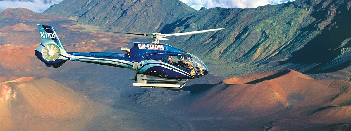 Blue Hawaiian Maui Helicopter Tours