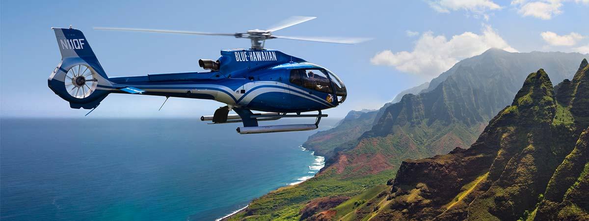 Kauai Helicopter Tours Blue Hawaiian Kauai Tours