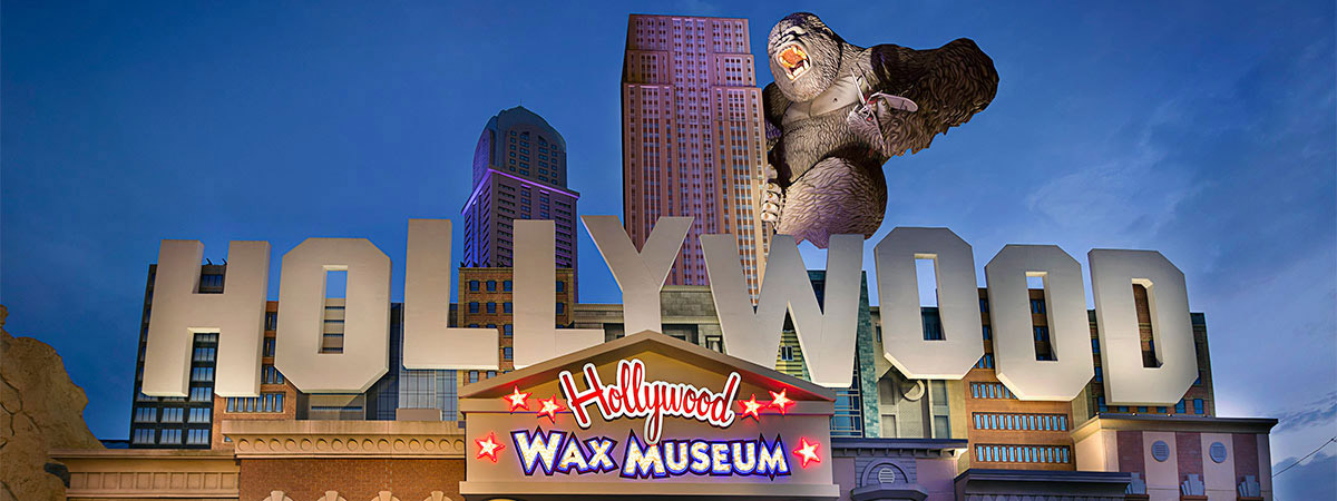 Hollywood Wax Museum Entertainment Center All Access Pass in Branson, Missouri