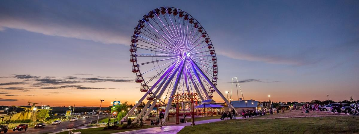 The Branson Ferris Wheel  in Branson, Missouri