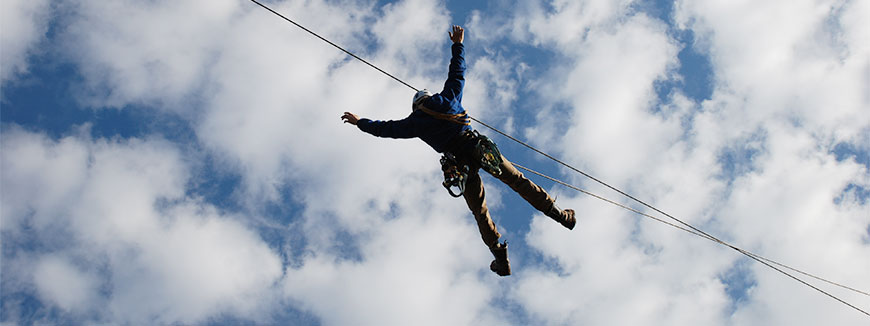Branson Zipline at Wolfe Mountain in Branson, Missouri