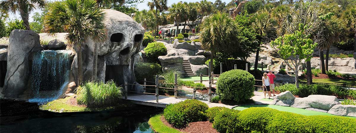 Captain Hook's Adventure Golf in Myrtle Beach, South Carolina