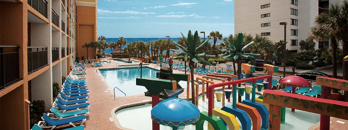 The Caravelle Resort in Myrtle Beach, South Carolina