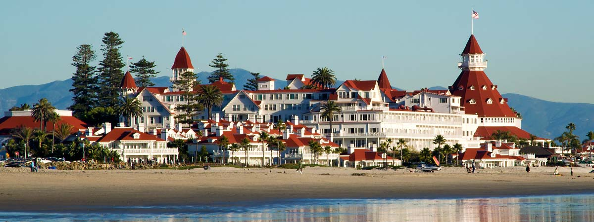 Coronado Beach Resort in Coronado, California