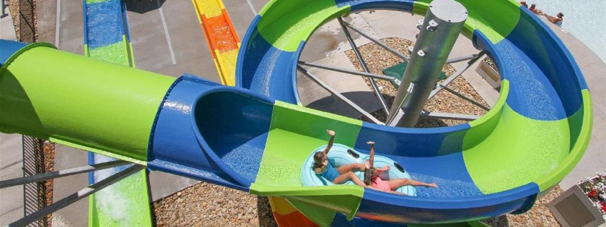 Country Cascades Waterpark Resort in Pigeon Forge, Tennessee