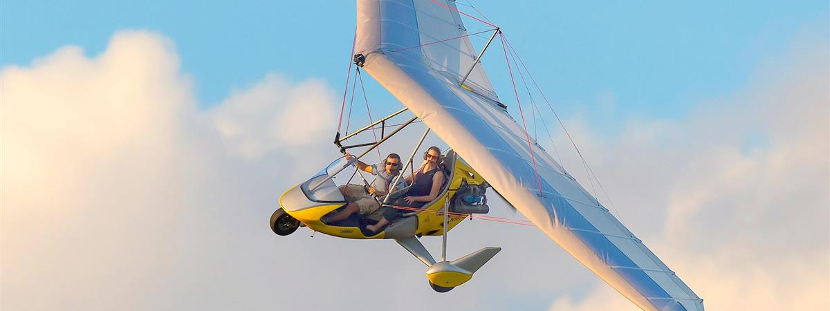 Tandem Hang Gliding Flights in Davenport, Florida