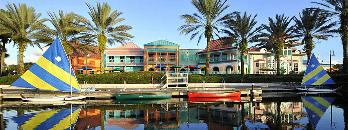 Disney's Caribbean Beach Resort in Lake Buena Vista, Florida
