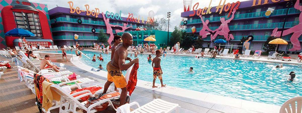 Disney's Pop Century Resort in Lake Buena Vista, Florida