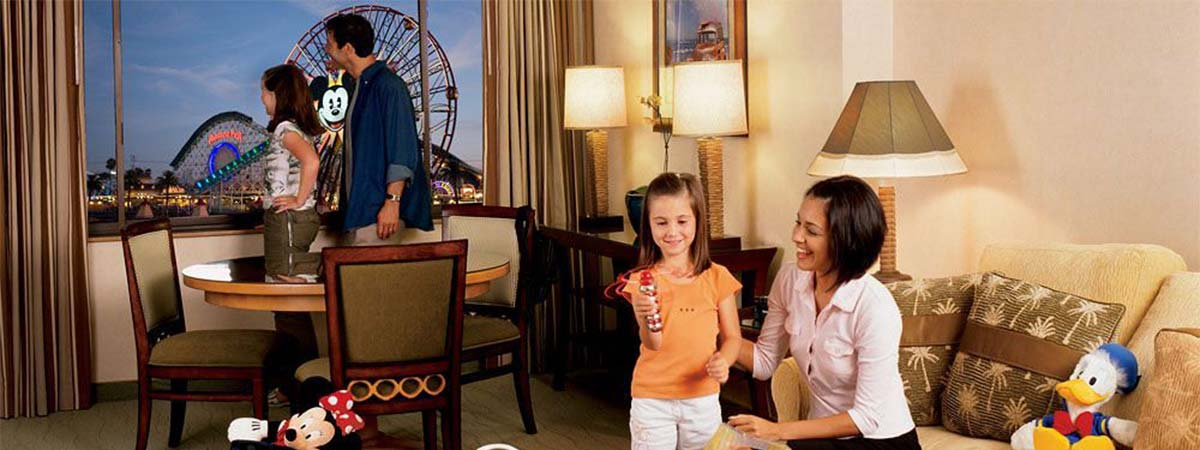Disney's Paradise Pier Hotel - On Disneyland Resort Property
