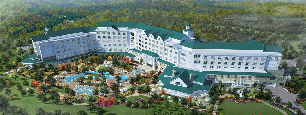 Dollywood's DreamMore Resort in Pigeon Forge, Tennessee