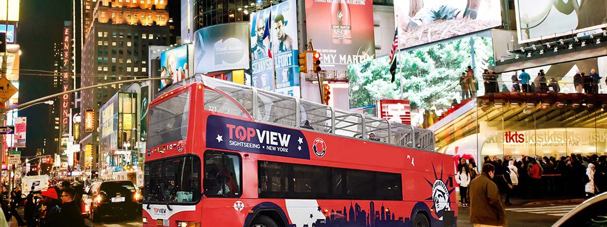 Part 1: 3 Top Hop-on Hop-off Buses in NYC