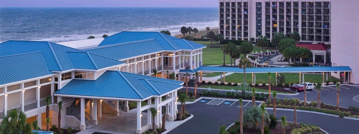 Doubletree Resort by Hilton Myrtle Beach Oceanfront in Myrtle Beach, South Carolina