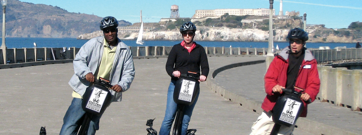 Fisherman's Wharf & Waterfront Segway Tour
