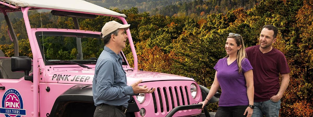 Foothills Parkway Smoky Mountains - Pink Jeep Tour in Pigeon Forge, Tennessee