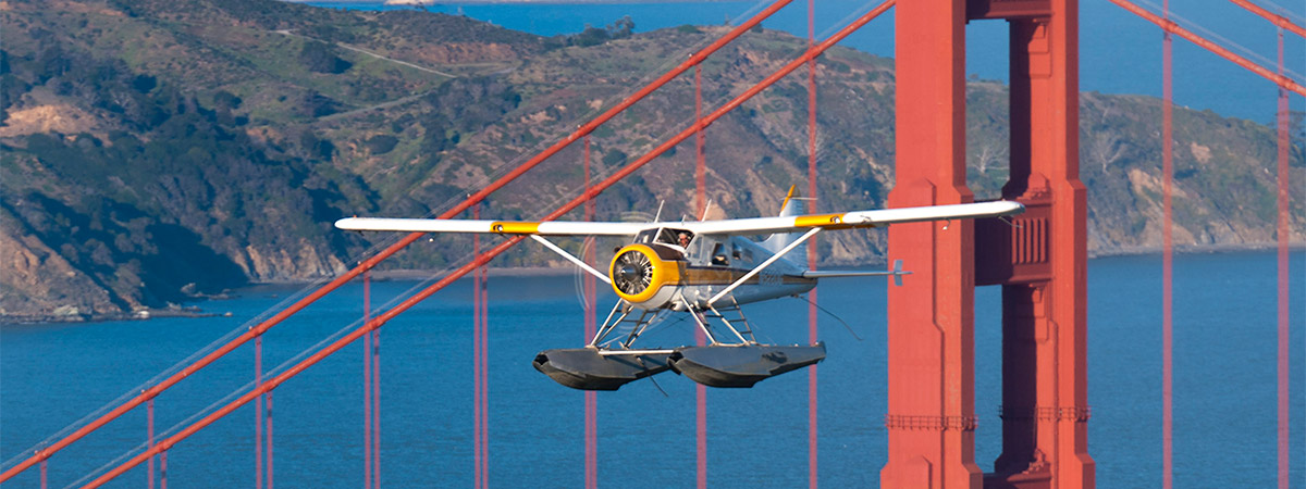 San Francisco Golden Gate Tour Seaplane Adventures