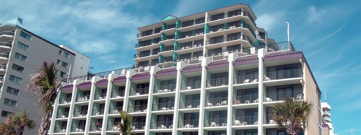 Grande Shores Ocean Resort Condominiums in Myrtle Beach, South Carolina