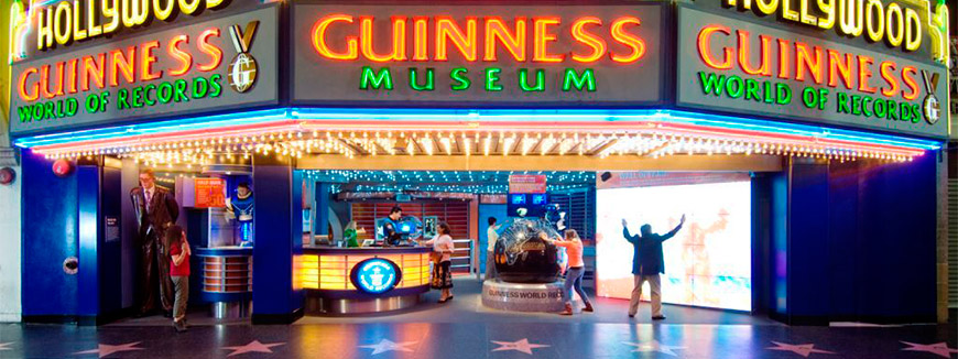 Guinness World Records Museum in Hollywood, California