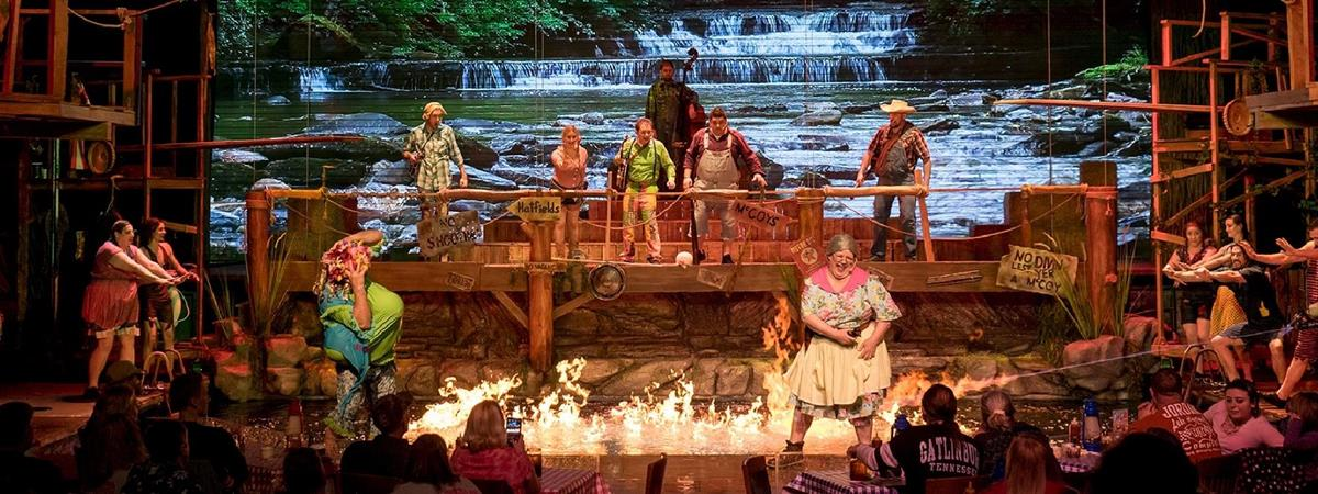 Hatfield & McCoy Dinner Show in Pigeon Forge, Tennessee