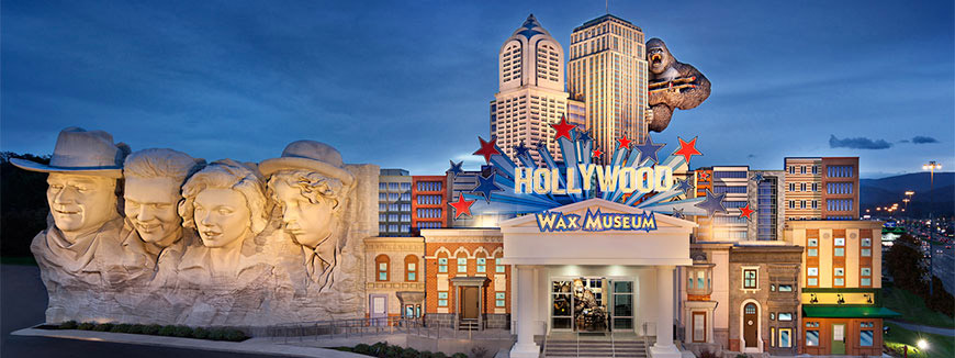 Hollywood Wax Museum Entertainment Center All Access Pass in Pigeon Forge, Tennessee