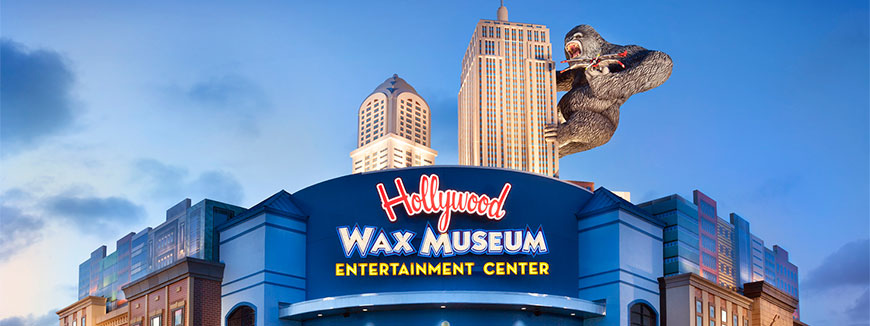 Hollywood Wax Museum Entertainment Center All Access Pass in Myrtle Beach, South Carolina