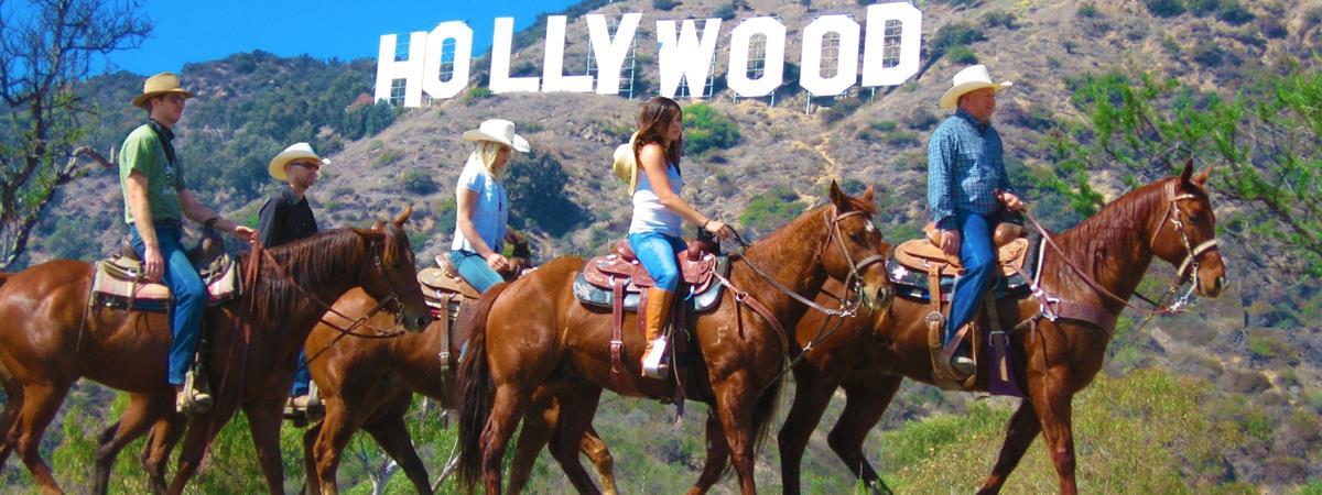 horseback excursion near hollywood sign los angeles