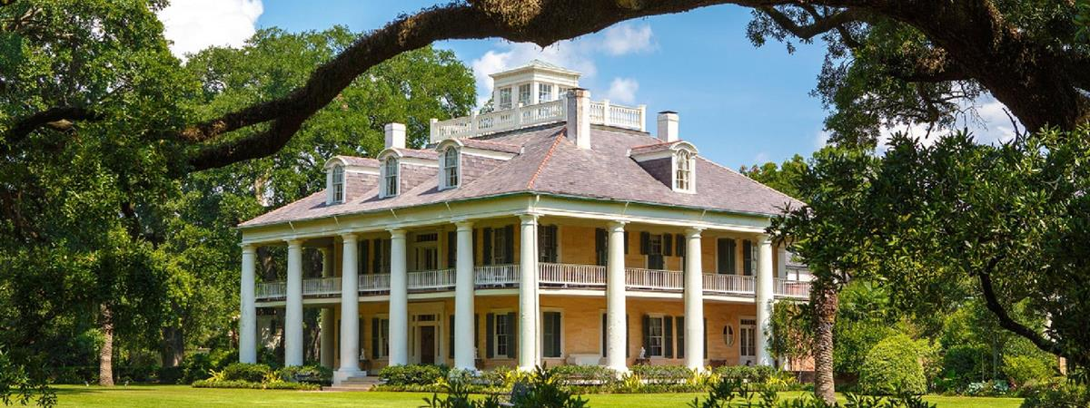 Houmas House Mansion Tour in Darrow, Louisiana