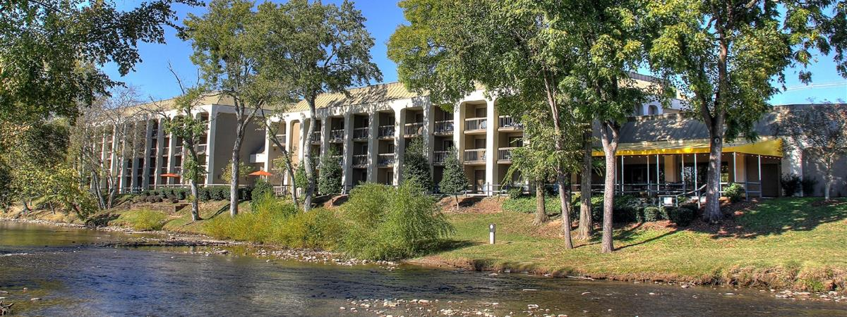 The Inn on the River in Pigeon Forge, Tennessee
