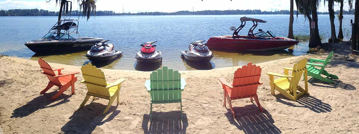 Jet Skiing, Kayaks & Stand Up Paddleboard Rentals with Buena Vista Watersports in Orlando, Florida