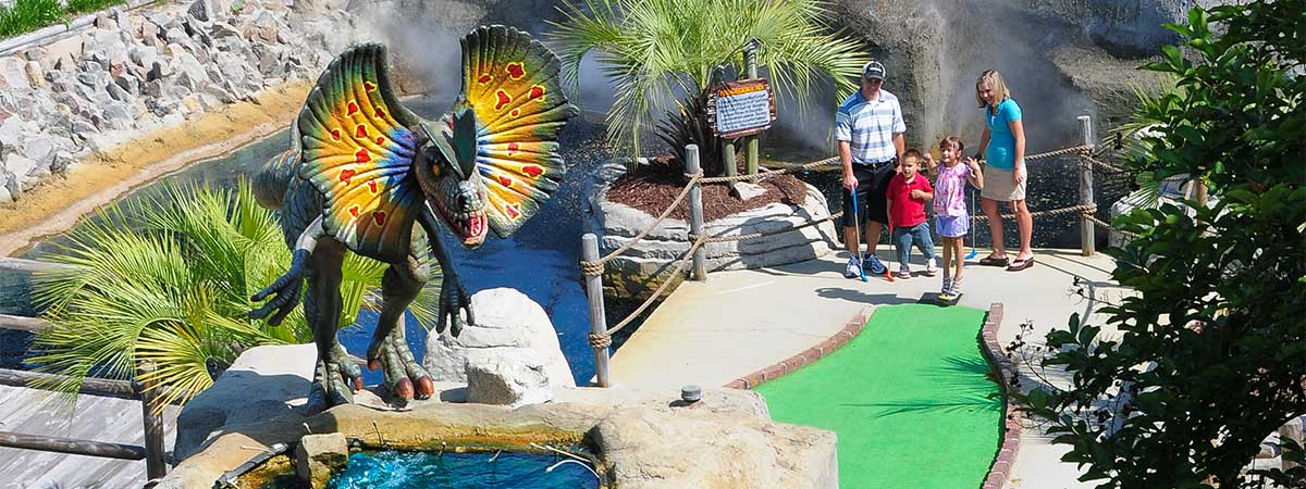 Jurassic Golf in Myrtle Beach, South Carolina