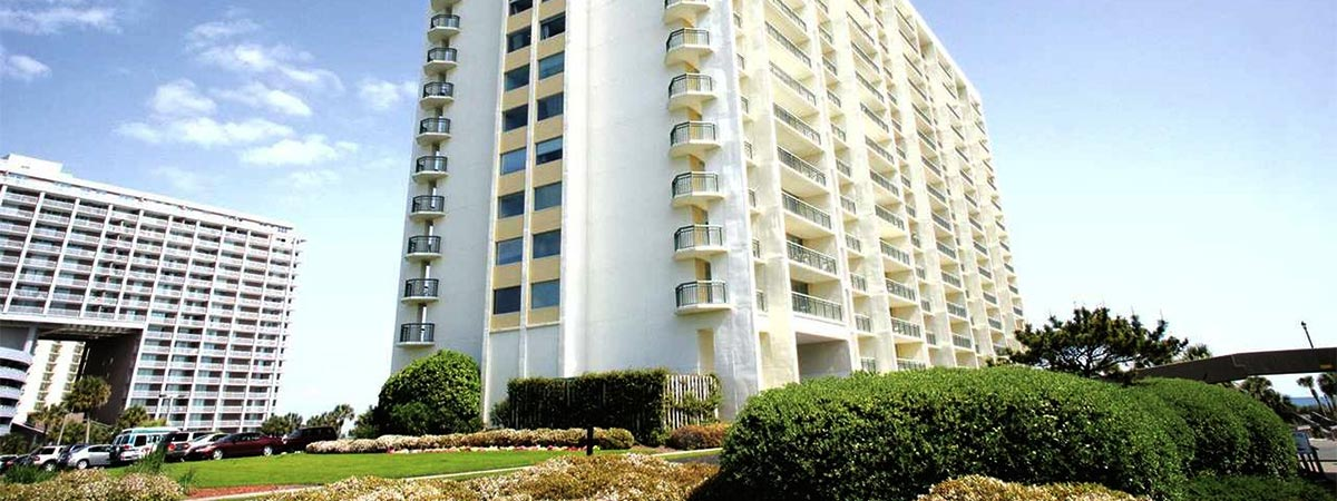 Kingston Plantation Condos in Myrtle Beach, South Carolina