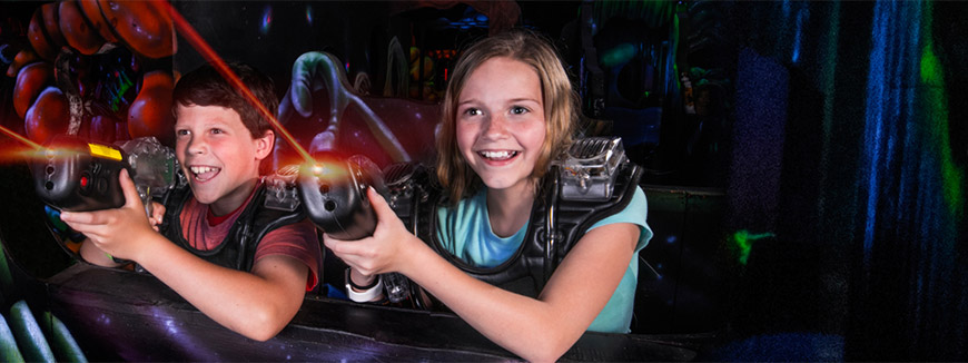LazerPort Fun Center in Pigeon Forge, Tennessee