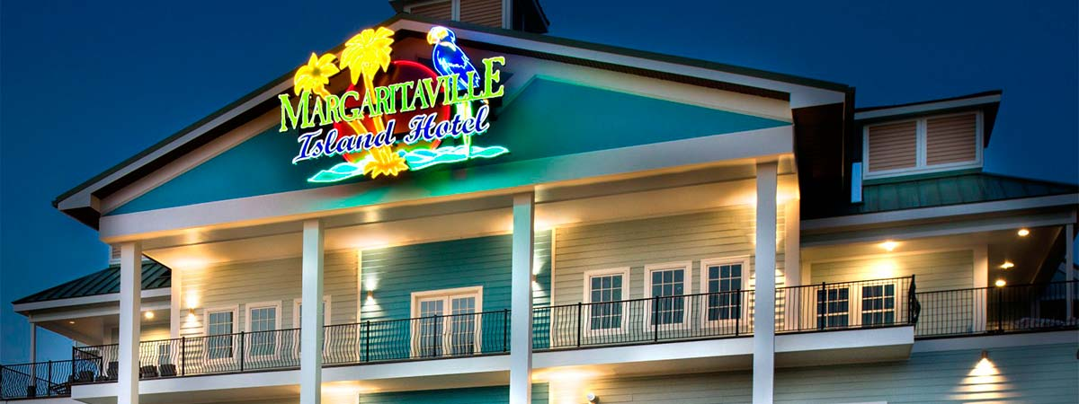Margaritaville Island Hotel in Pigeon Forge, Tennessee