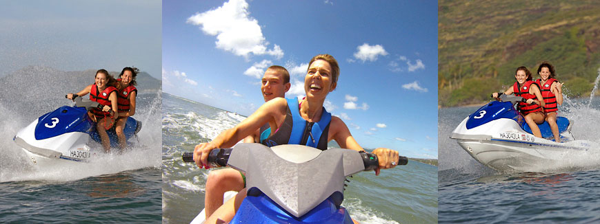 Jet Ski Oahu - SeaBreeze Watersports