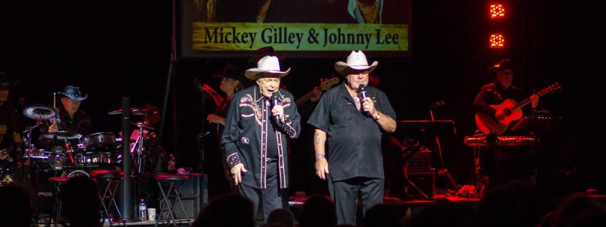 Mickey Gilley & Johnny Lee / Urban Cowboy Reunion in Branson, Missouri