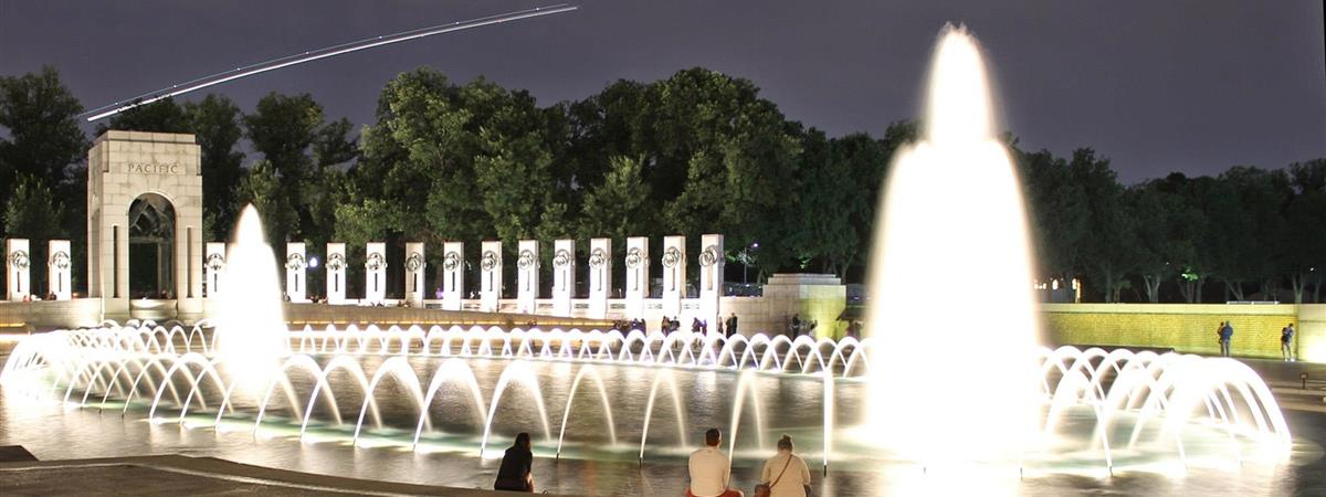 Monuments by Night in Washington, District of Columbia