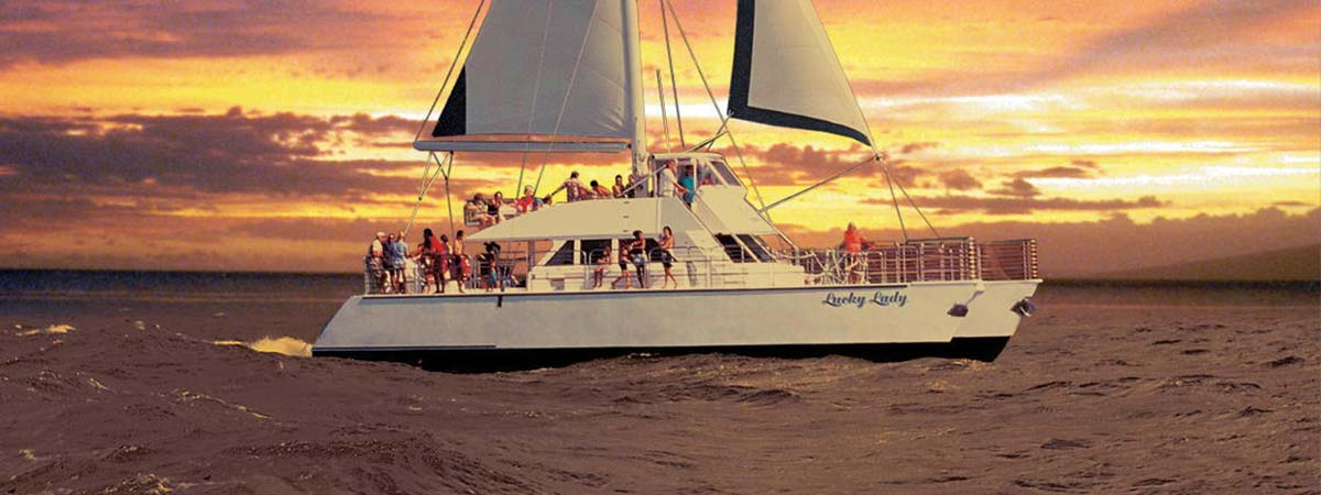 Kauai Sea Tours Na Pali Sightsee Sunset Dinner Cruise Aboard the Lucky Lady