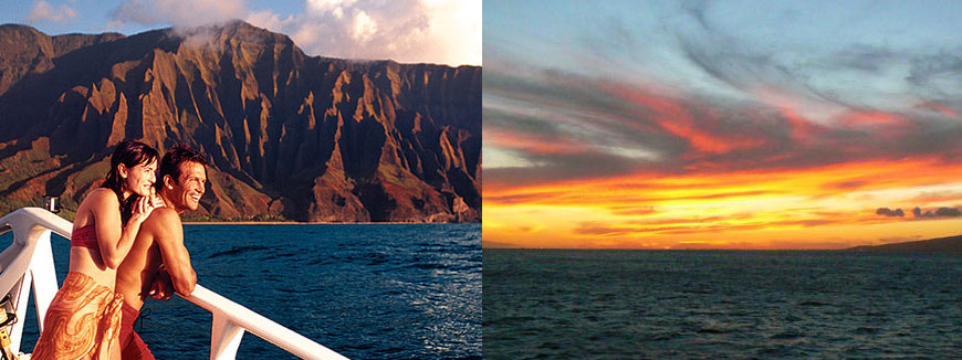Capt. Andy's Southern Star Na Pali Dinner Sunset Sail